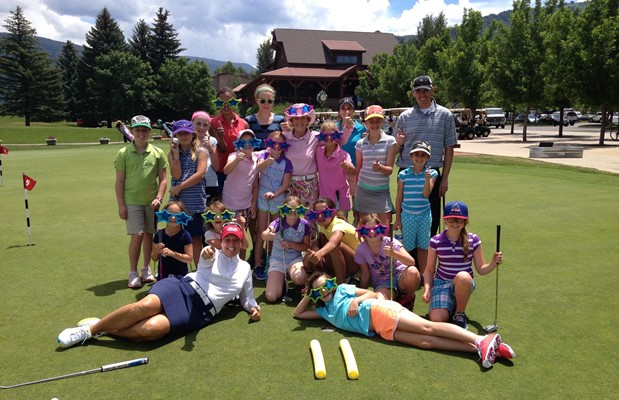 Girls Golf Aspen